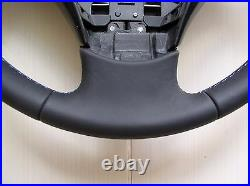 03-05 BMW E60 E61 NEW NAPPA LEATHER STEERING WHEEL/THUMB RESTS/M STYLE stitch