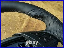 03-06 BMW E60 E61 NEW NAPPA LEATHER ERGONOMIC INLAYS SW THICK&HEAVY flat bottom