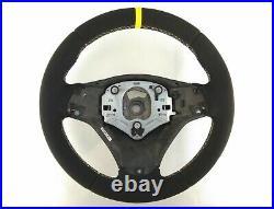 05-13 BMW M-TECH 1/3/X E82/E87/E90/92/84 new ALCANTARA LEATHER THICK&SOFT yellow