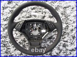 07-10 BMW E60 E61 NEW DAKOTA LEATHER HEATED STEERING WHEEL /THUMB REST /M-Stitch