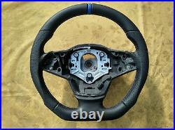 07-14 BMW X5 E70 E70LCi NEW NAPPA LEATHER ERGONOMIC INLAYS SW /FLAT BOTTOM /base