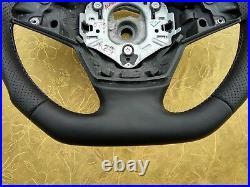 07-14 BMW X5 E70 NEW NAPPA/ALCANTARA ERGONOMIC INLAYS SW /FLAT bottom /base