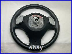 07-14 BMW X5 E70 X6 E71 HEATED LEATHER STEERING WHEEL M SPORT With SHIFTERS OEM