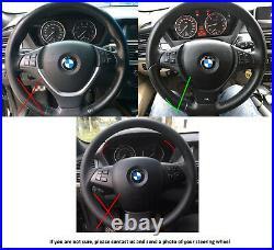 07-14 BMW X5 E70 X6 E71 M-TECH M-SPORT NEW NAPPA LEATHER ERGONOMIC INLAYS /thick