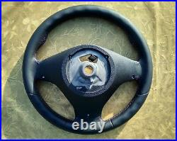 07-14 Bmw Original X5 E70 X6 E71 New Nappa Leather Steering Wheel M Sport M-tech