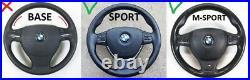 09-16 BMW 5 F07 F10 F11 6 F12 7 F01 NAPPA LEATHER STEERING WHEEL sport LIKE NEW