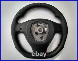 09-16 Bmw F07 F10 F01 Nappa Leather Ergonomic Inlays Heated Flat Bottom M (base)