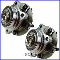 10 Piece Steering & Suspension Kit Control Arms Wheel Bearings Tie Rods End Link
