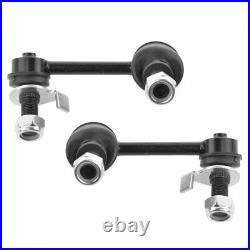 10 Piece Steering & Suspension Kit Control Arms Wheel Bearings Tie Rods New
