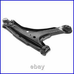 10 Piece Steering Suspension Kit Wheel Bearing Assemblies Control Arms Tie Rods