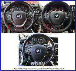 11-18 BMW X3 F25 X5 F15 X6 F16 NEW ERGONOMIC INLAYS SW /FLAT bottom /THICK /base