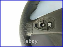 12-16 MERCEDES C W204 SLK CLS E new NAPPA LEATHER HEATED GRAY mark/stitch THICK