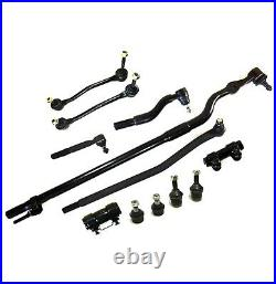 12 Pc Front Drag Link Ball Joint Sway Bar End Link Tierod for Ford F-250 SD 4WD