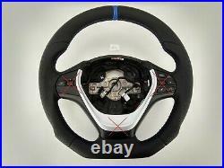 13-18 Bmw F22 F30 New Nappa Ergonomic Inlays Sports Heated Sw Flat Thick&heavy