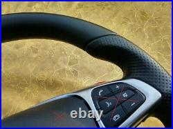15-18 OEM MERCEDES C W205 GLC X253 SMOOTH NAPPA LEATHER FLAT BOTTOM AMG/Sports