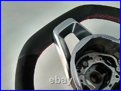 16-18 OEM MERCEDES E W213 C238 A238 NEW NAPPA/ALCANTARA SW RED AMG/SPORT flat