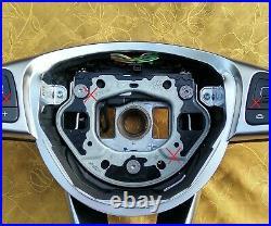 16-19 OEM MERCEDES E W213 C238 A238 NAPPA LEATHER SW AMG/SPORT shift FLAT BOTTOM