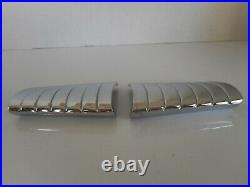 1949, 1950, 1951 Mercury Accessory Steering Wheel Chrome Bars (pr)
