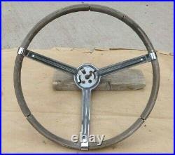 1967 Plymouth Sport Fury STEERING WHEEL with HORN RING Buttons Original MoPaR