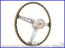 1967 Shelby Steering Wheel 1964-1967 Mustang Corso Feroce With Tri-Bar Horn Button