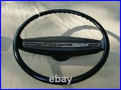 1970's Camaro Nova Impala Steering Wheel Monte Carlo Horn Bar For Restoration