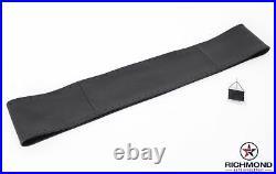 2003-2007 Hummer H2 Fog Light Roof Bar LED -Leather Steering Wheel Cover, Black