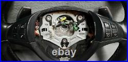 2007-13 BMW X5 E70 X6 E71 M Sport Leather Steering Wheel with Paddle Shift & SRS