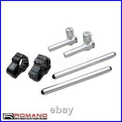 50mm Fork Tube Clip Ons Handlebars Adjustable Shift Handle Steering Wheel Bars