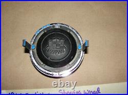 60 Cadillac Deville FLAT TOP STEERING WHEEL HORN BAR CENTER CAP TRIM With EMBLEM
