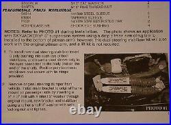 94-97 DODGE RAM 1500-3500 4x4 DUAL FRONT STEERING STABILIZER SHOCKS
