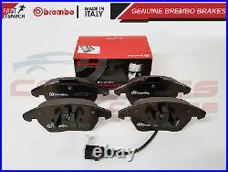 AUDI A3 SEAT LEON ALTEA TDi FSi FRONT 288mm GENUINE BREMBO BRAKE DISCS PADS SET