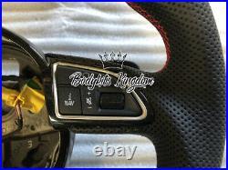Audi S3 A3 rs3 Carbon Fiber steering wheel flat bottom 8v custom bar wing lip