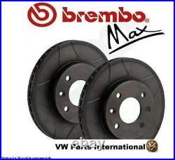 Audi TT Brembo Max Front Performance Brake Discs 312mm