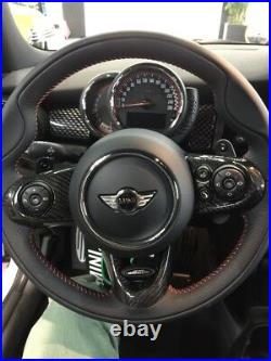 BAR Autotech Carbon Fiber Steering Wheel Cover For Mini Cooper F55JCWithF56JCW