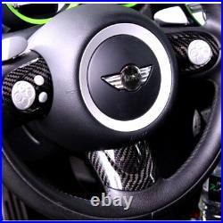 BAR Autotech Carbon Fiber Steering Wheel Cover For Mini Cooper R56 S R60 S JCW