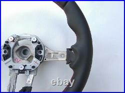 BMW 1 F20 2 F22 3 F30 4 F32 33 M-TECH SPORT NEW NAPPA LEATHER SW red THICK SOFT