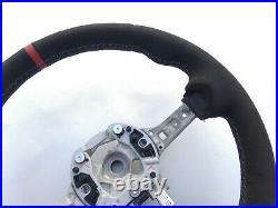 BMW 1 F20 2 F22 3 F30 4 F32 M TECH ALCANTARA LEATHER SHIFT/HEATED red THICK