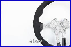 BMW 1 F20 2 F22 3 F30 4 F32 M TECH NEW ALCANTARA LEATHER SW SHIFT M-stitch THICK