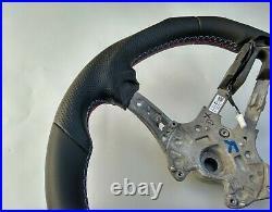 BMW 5 F07 F10 6 F06 F13 M-TECH M SPORT new NAPPA HEATED SHIFT FLAT BOTTOM blue