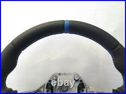 BMW 5 F07 F10 6 F06 F13 M TECH SPORT NEW NAPPA LEATHER HEATED SW blue THICK SOFT