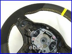 BMW 5 G30 6 G32 M-TECH SPORT NEW ALCANTARA / NAPPA LEATHER HEATED SHIFT yellow