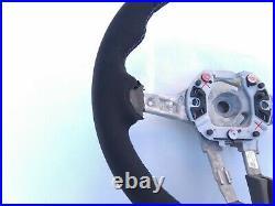 BMW F20 F22 F30 M-TECH M SPORT NEW ALCANTARA SUEDE LEATHER SW THICK & SOFT blue