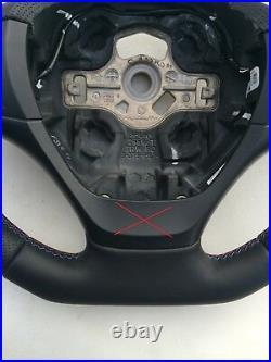BMW F20 F30 NEW NAPPA ERGONOMIC INLAYS STEERING WHEEL FLAT BOTTOM THICK base