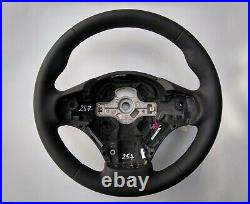 BMW F20 F30 NEW NAPPA LEATHER HEATED STEERING WHEEL THICK EXTRA THUMB RESTS base