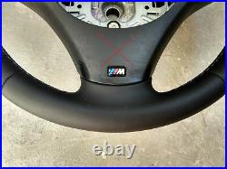 BMW M SPORT TECH 1/3/X E82/E87/E90/E92/84 NEW NAPPA LEATHER M-stitch THICK SOFT