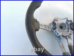BMW X3 F25 F26 X5 F15 F16 M TECH ERGONOMIC INLAYS NAPPA HEATED FLAT BOTTOM blue