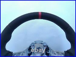BMW X3 F25 F26 X5 F15 F16 M TECH SPORT ALCANTARA LEATHER HEATED SW red THICKER