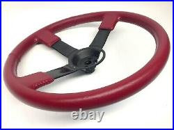 BUICK 3 Bar Sport Leather Steering Wheel GM part # 25507580 Regal Grand National