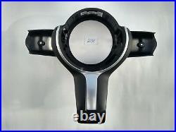 Bmw 1 F20 2 F22 3 F30 4 F32 5 F10 M-tech M Sport Steering Wheel Trim Panel Cover