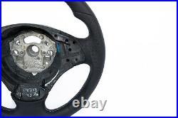 Bmw 3 E90 E91 X1 E84 Nappa Leather Ergonomic Inlays Heated Sw Thick Flat Bottom